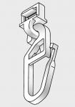 Clickgleiter für Kunststoffschienen