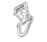 Clickgleiter kurz für Kunststoffschienen
