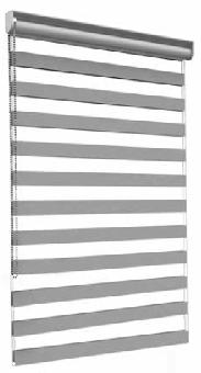 Doppelrollo Standard mit Montageprofil