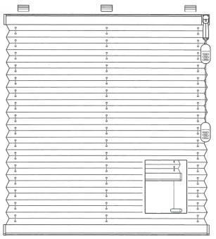 plissee freih ngend plissee vom profi. Black Bedroom Furniture Sets. Home Design Ideas
