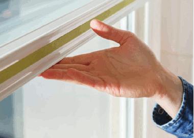 VS2 Plissee mit magnetischer Fixierung am Fenster