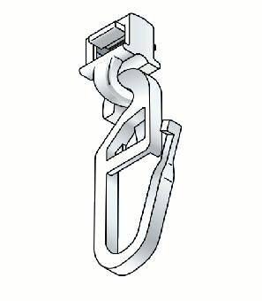 Clickgleiter für Aluminiumschienen 6 mm