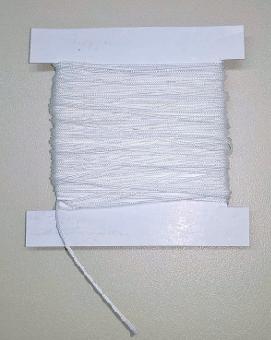 Schnur 0,8 mm für Plissee