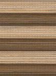 Plissee Juno braun