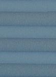 Plissee Krepp blau