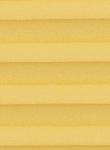 Plissee Krepp gelb