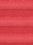 Plissee Krepp rot