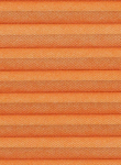 Wabenplissee orange