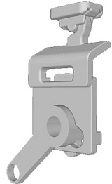 gleiter f r schiebvorhang plissee vom profi. Black Bedroom Furniture Sets. Home Design Ideas