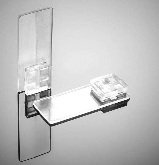 klebeplatten f r plissee decomatic plissee vom profi. Black Bedroom Furniture Sets. Home Design Ideas